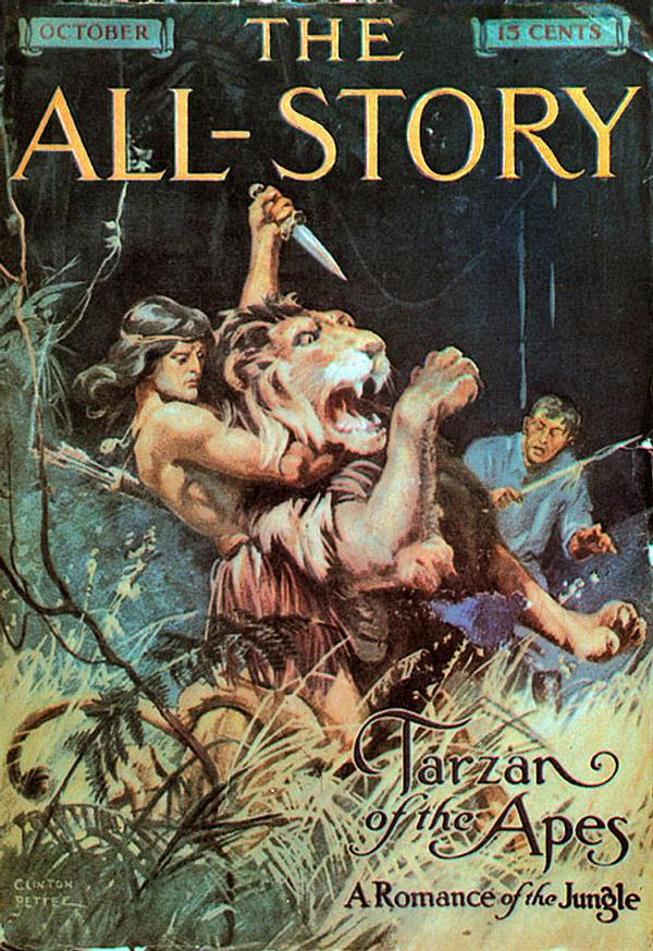 a All-Story Tarzan 1912