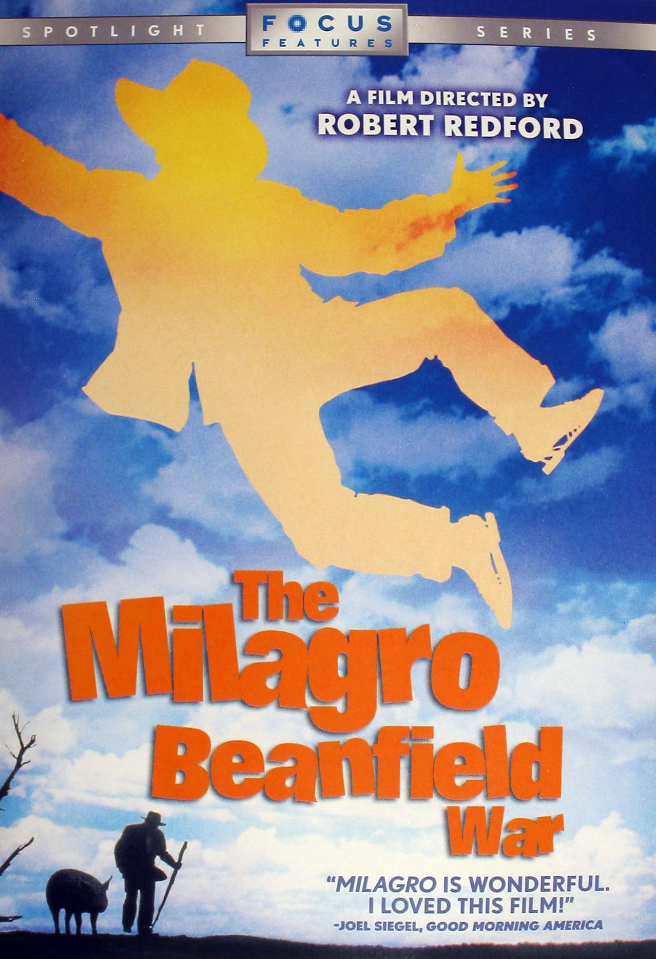 milagro beanfield war The milagro beanfield war is the 1988 film adaptation of the titular first novel written by john nichols itself the first of a trilogy robert redford handled direction for the film while author john nichols, as well as david ward, penned its screenplay notable actors within the film include .
