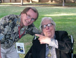 Jeff joins one of his favorites, Ray Bradbury, in the Writers' Afterward.