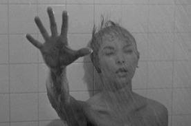 The iconic shower scene.