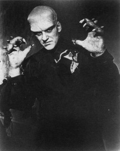 James Arness as The Thing.
