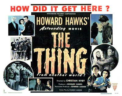thing poster 1951