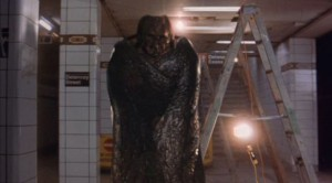 How would you like to run into this in the subway?