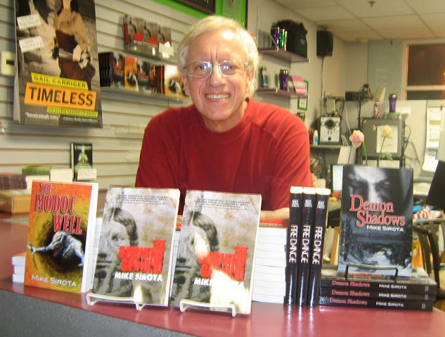 Mike Book Signing