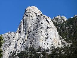 Tahquitz Rock is an Idyllwild landmark.