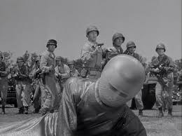 The military welcomes Klaatu...