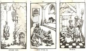 Engravings from The Nine Gates of the Kingdom of Shadows.