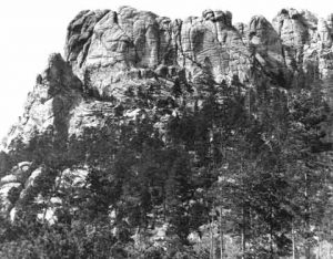 The Six Grandfathers, prior to the desecration known as Mount Rushmore.