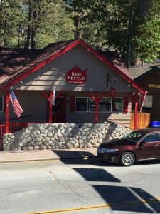 Idyllwild's iconic Red Kettle Restaurant sereves awesome breakfasts.