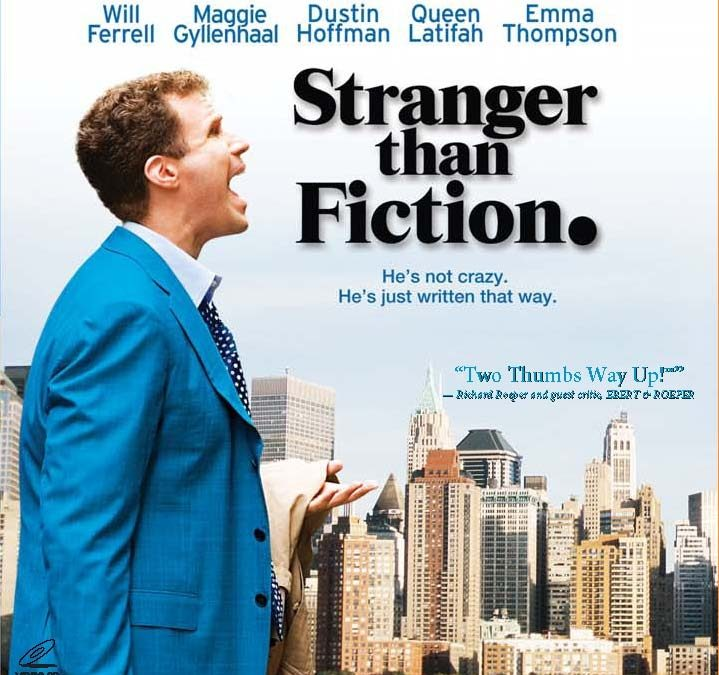 Films About Books: Stranger Than Fiction