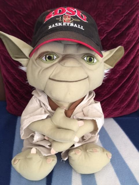 Likes His Basketball, Yoda Does—Hmm?