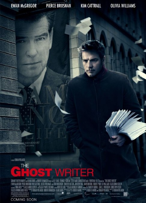 Throwback Thursday: Films About Writers—The Ghost Writer